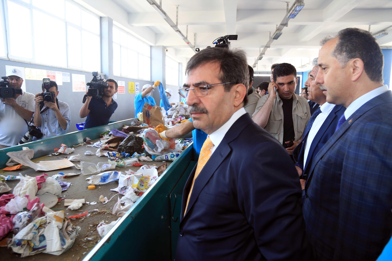 Bağcılar Belediyesi Ambalaj Atığı Toplama açılış töreni