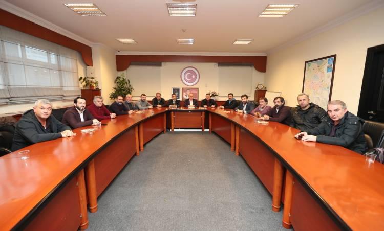 Kulüpler Birliğinden Başkan Çağırıcı'ya ziyaret