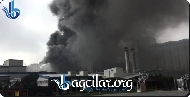 Güngören'deki Efesbilsen Fabrikasında Yangın !