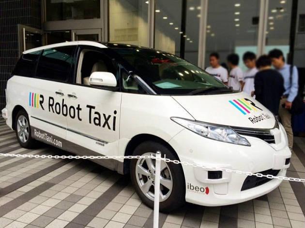Robot Taksi Servisi