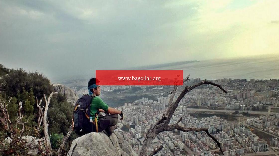 Hurma Kayalıkları'ndan Antalya'nın kuş bakışı hoşluğu
