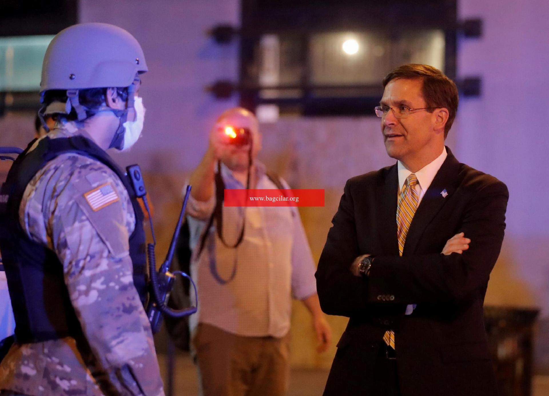 Pentagon geri adım attı: Erleri Washington'dan çekmiyorlar