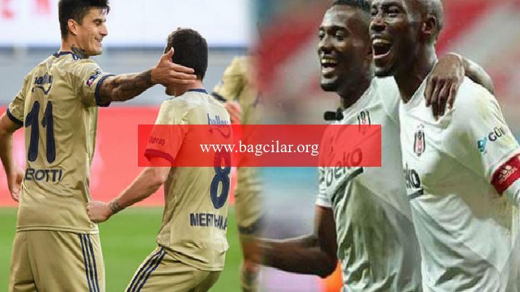 Fenerbahçe ile Beşiktaş'ın golcüleri