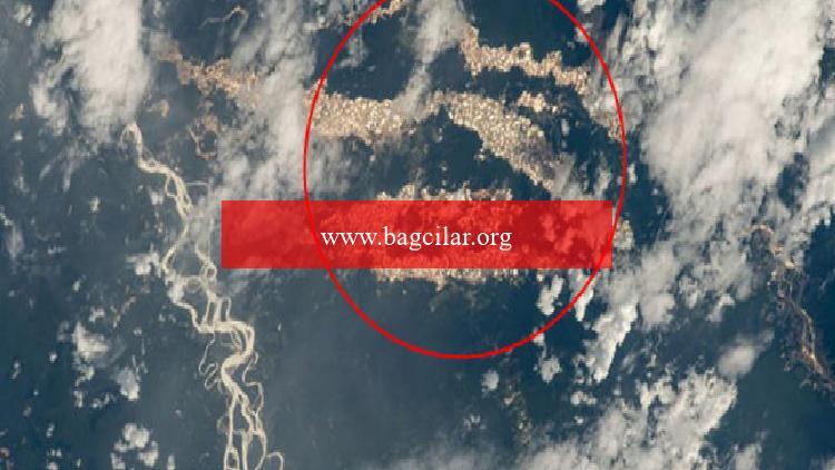 Amazon'un 'altın nehirleri' NASA fotoğraflarıyla ortaya çıktı