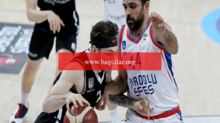 Anadolu Efes: 84 – Beşiktaş Icrypex: 80