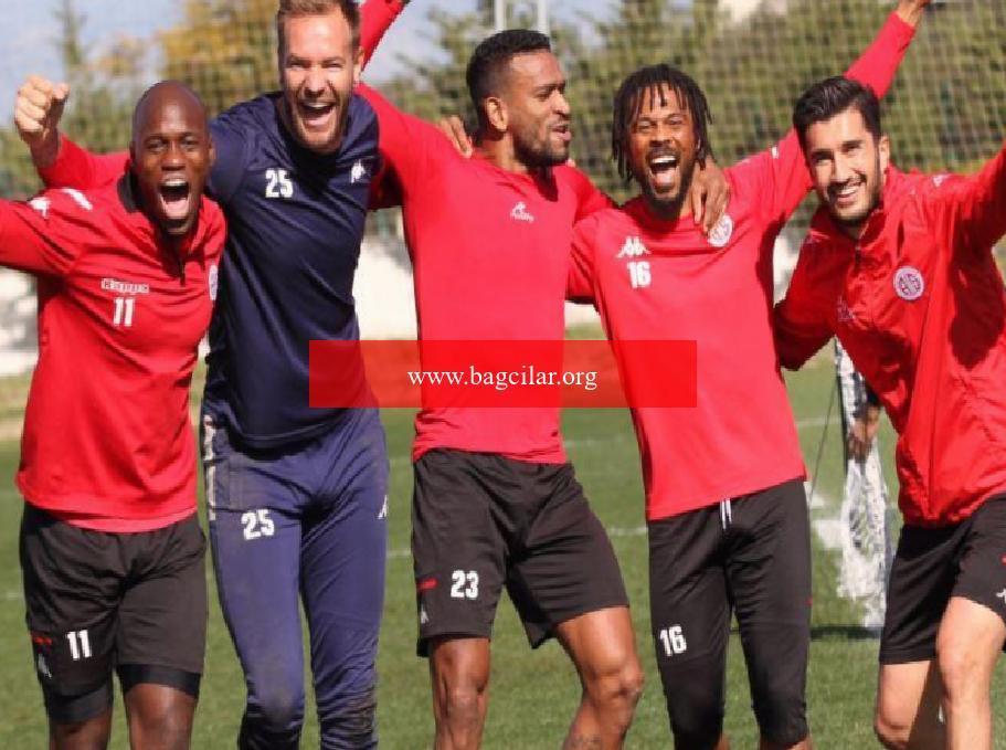 Antalyaspor'da tek amaç galibiyet