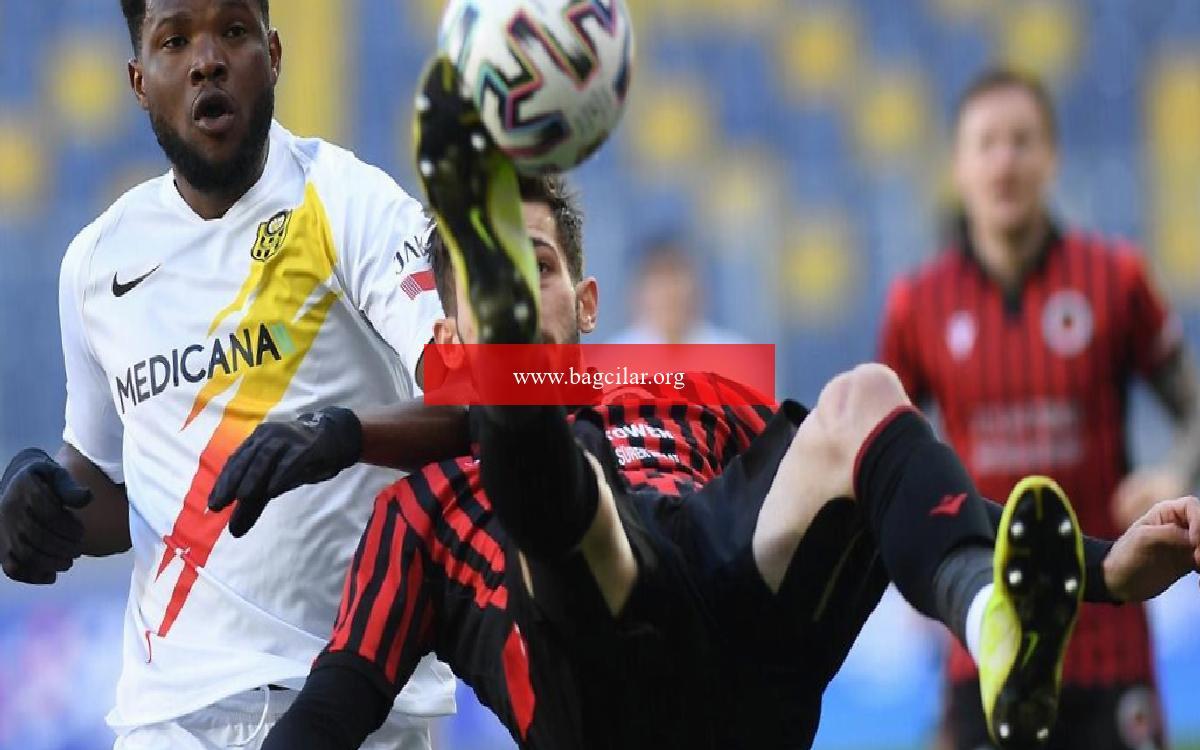 Gençlerbirliği 1-1 Yeni Malatyaspor (Maçın özeti ve goller)