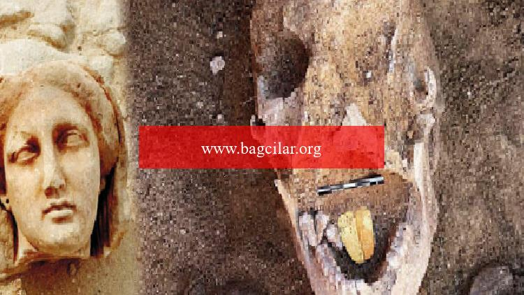Mısır'ın altın lisanlı mumyası