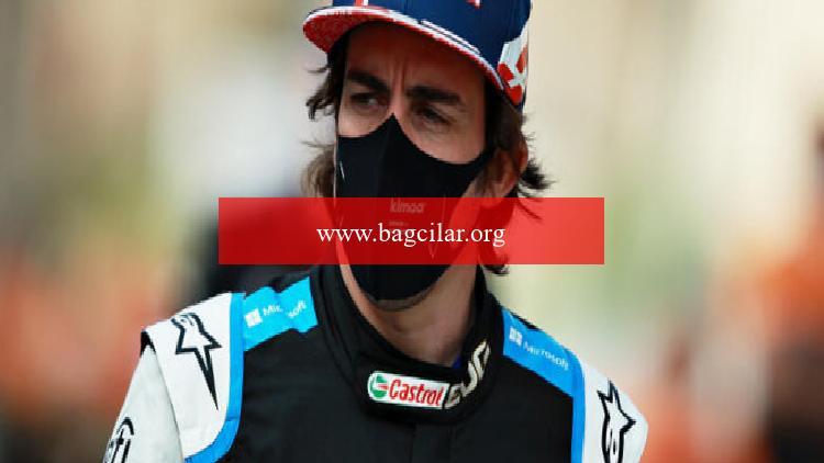 Alonso, Formula 1'de tüm dönem boyunca titanyum ağız muhafazasıyla yarışacak