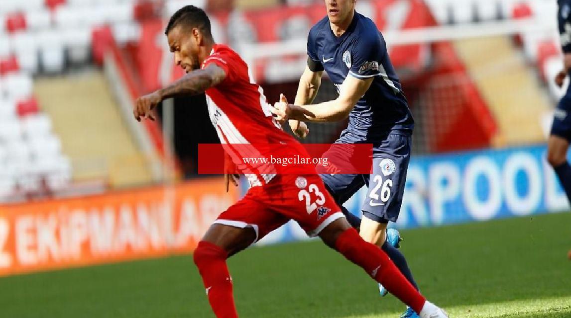 Antalyaspor 1-1 Kasımpaşa (Maçın özeti ve goller)