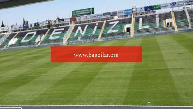 Denizli Atatürk Stadı tabanıyla beğeni topluyor