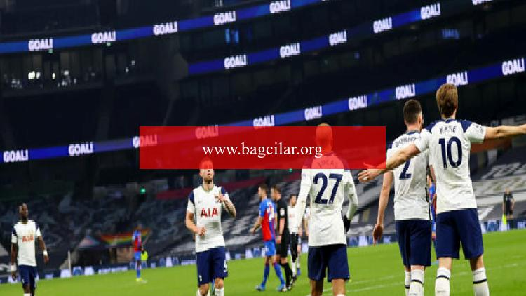 İngiltere Premier Lig'de Tottenham, alanında Crystal Palace'ı farklı yendi