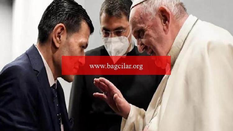 Papa Franciscus, Erbil'de Aylan bebeğin babasıyla görüştü