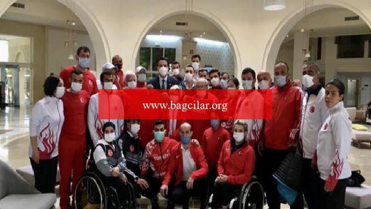 Paralimpik atletler, Tunus'ta 8 madalya kazandı