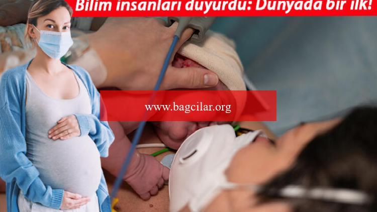 Son dakika haberler… Dünyada bir ilk! Kovid-19 aşısı olan annenin bebeği antikorla doğdu