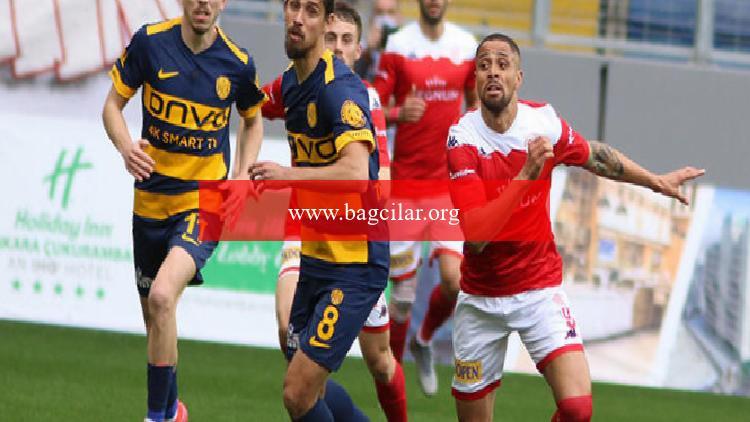 Ankaragücü 1-0 Antalyaspor (Maçın özeti)