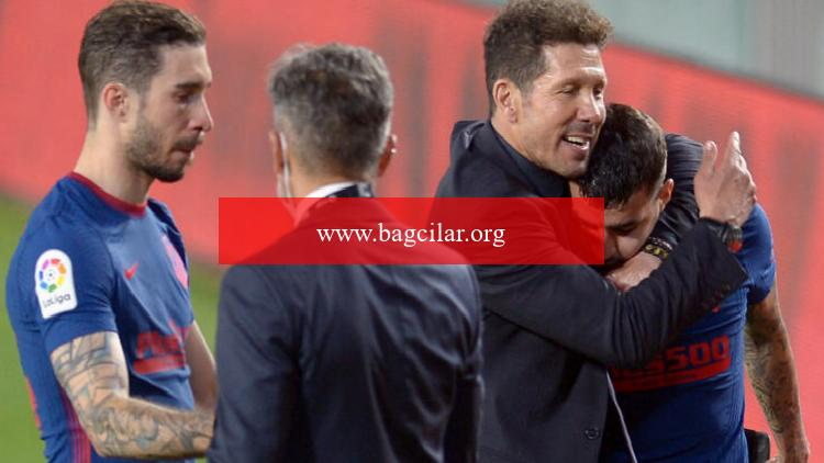 Atletico Madrid puan kaybetti, La Liga'da tepe kızıştı!