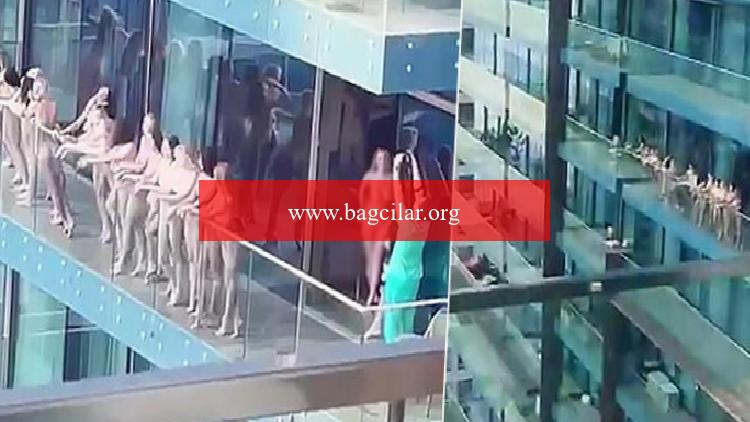 'Çıplak' reklam skandalı! Hepsi gözaltına alındı