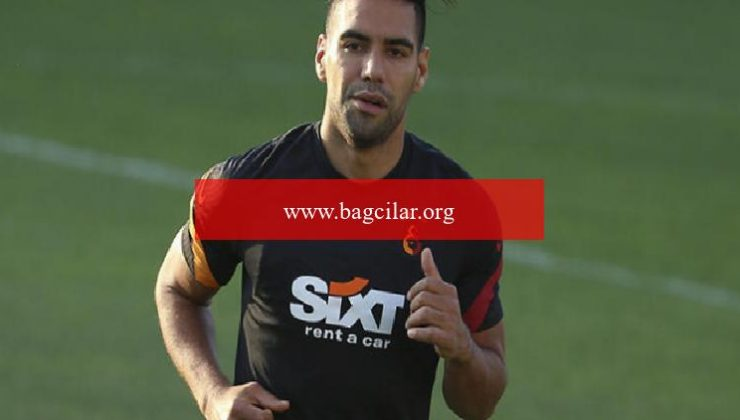 Galatasaray'da sakatlığı bulunan Falcao özel program dahilinde çalıştı