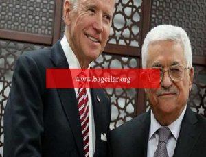 ABD Lideri Biden, Filistin başkanı Abbas'a 'bölgedeki son gelişmeler' ile ilgili yazılı ileti gönderdi