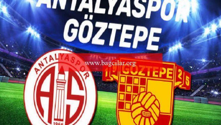 Antalyaspor – Göztepe maçı ne vakit saat kaçta?