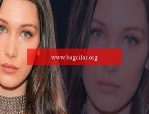 Dünyaca ünlü model Bella Hadid sert çıkıştı! 'İsrail'in Filistinlilere akınlarında ABD'nin de hissesi var'