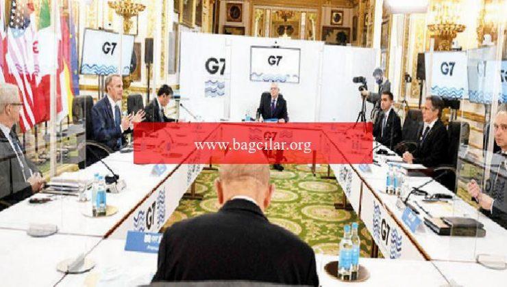 G-7 paravanlar gerisinde buluştu