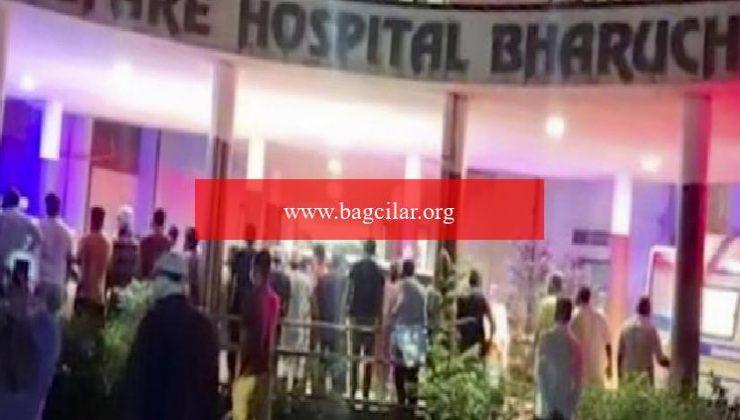 Hindistan'da hastanede çıkan yangında 18 Kovid-19 hastası hayatını kaybetti