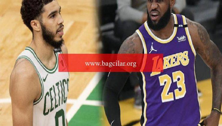 NBA'de gecenin sonuçları: LeBron James döndü, Jayson Tatum 60 sayı attı