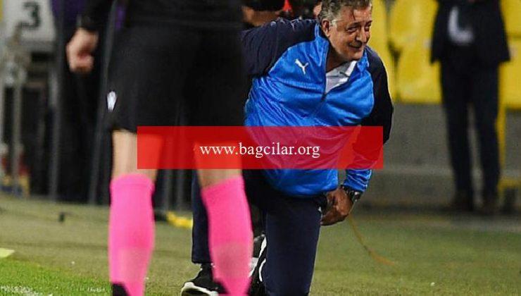 Yılmaz Vural'ın sıkıntı anları! Fenerbahçe maçında bir anda yere düştü