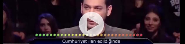 Atatürk Sorusuna iki Joker Hakkını Yedi !