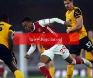 Arsenal alanında Wolverhampton'a 2-1 kaybetti