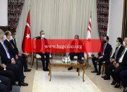 Bakan Çavuşoğlu: Türkiye'nin Kıbrıs Türk halkına takviyesi tamdır