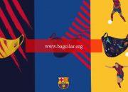 Barcelona logolu maske satışına başladı