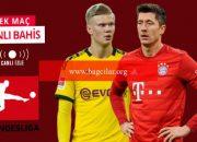 Bir tarafta Dortmund, sair tarafta Bayern! Dev maçta iddaa'da öne çıkan…