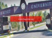Cumhuriyet Üniversitesi'nden adrese teslim diploma