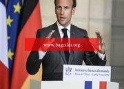"""Fransa Cumhurbaşkanı Macron: """"Avrupa buhranın başında kusurlar yaptı"""""""
