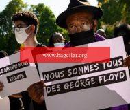 Fransa'da göstericilerle polis arasında çatışma! George Floyd hareketleri yayılıyor