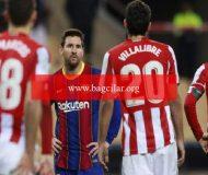 İspanya Harika Kupası'nı Athletic Bilbao kazandı! Messi birinci defa kırmızı kart gördü