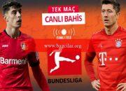 Önder Bayern, şiddetli Leverkusen virajında! Bundesliga'ya banko iddaa kestirimi…