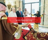 Papa Irak'ta: Selamün aleyküm