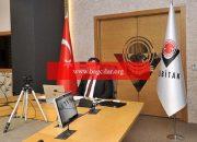 TÜBİTAK yöneticisi, Kovid-19'a karşı memleketler arası iş birliği içtimasına katıldı