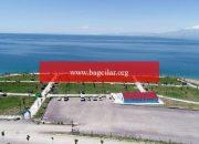 Van Gölü'ndeki mavi bayraklı halk plajı, yeni seri için hazır